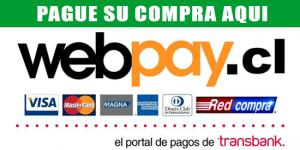 Paga tu compra en WebPay.cl
